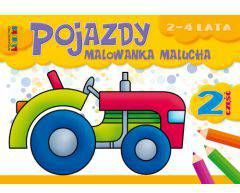 Pojazdy malowanka malucha 2-4 lata cz.2