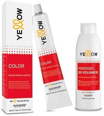Alfaparf Yellow farba 100ml + oxydant 150ml