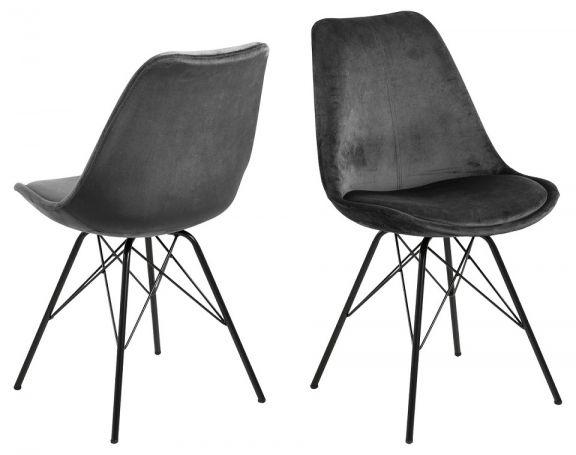 Krzesło Eris - ciemnoszare