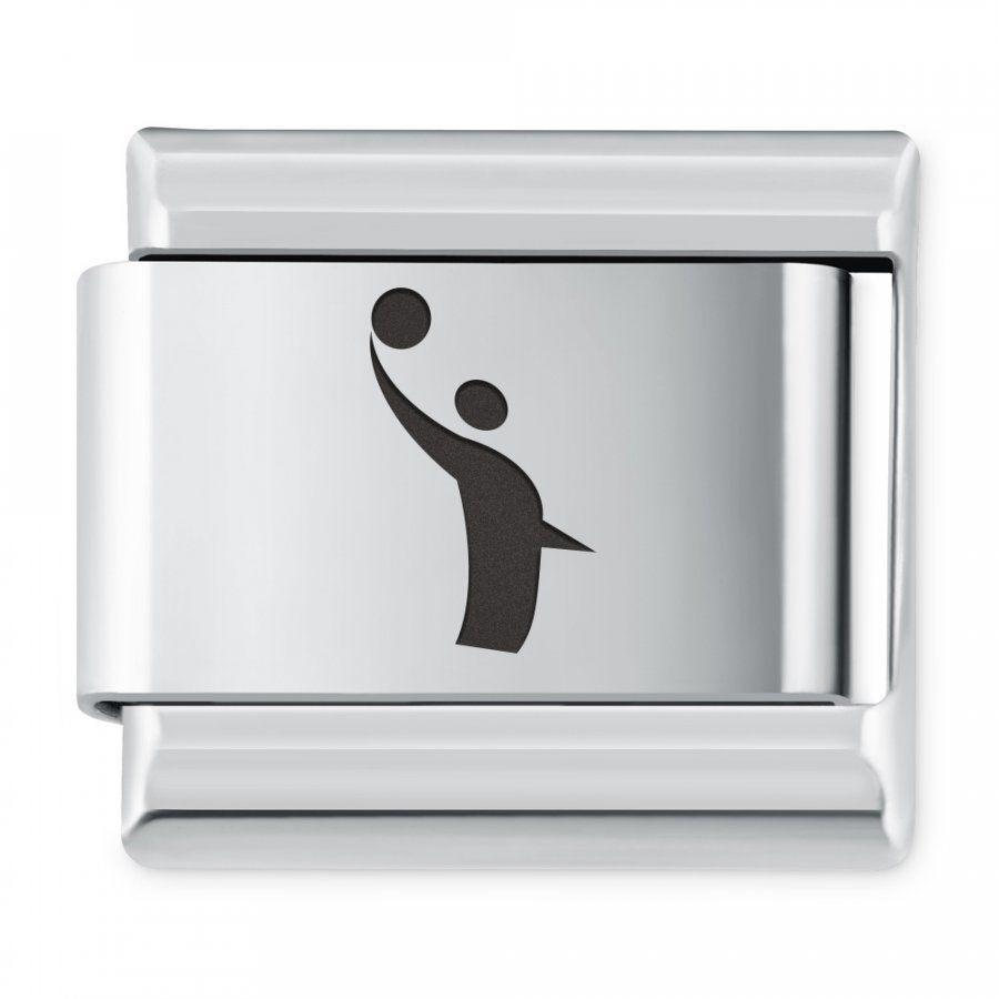 ITALIAN CHARMS Symbole Sportowe Siatkówka