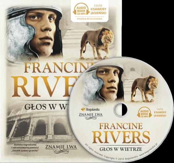 Głos w wietrze tom I Znamię lwa - Francine Rivers - Audiobook CD/MP3