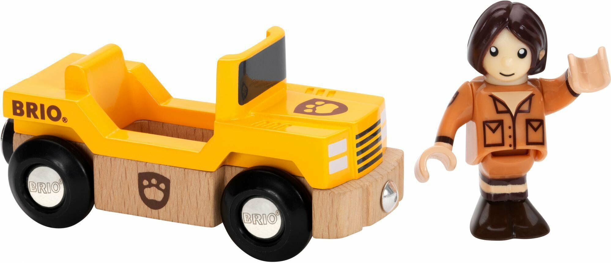 BRIO - Brio World Drewniany Pociąg Safari