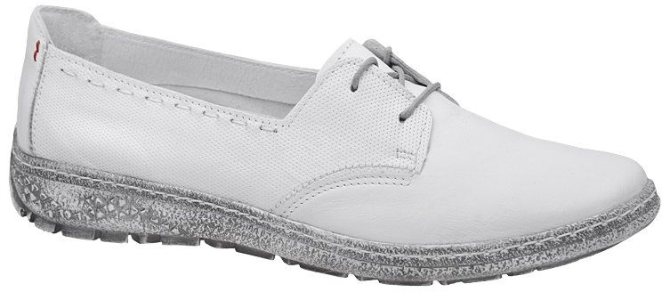 Półbuty KACPER 2-5237-560P Białe Sneakersy damskie