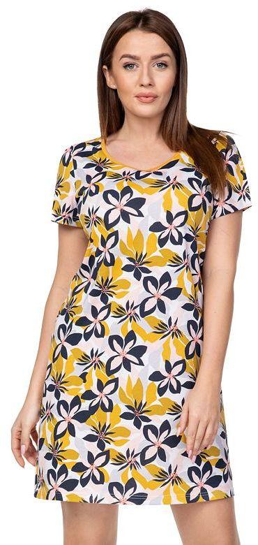 Damska koszula nocna Louise żółte
