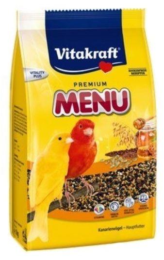 VITAKRAFT - Menu vital pokarm dla kanarka 500g