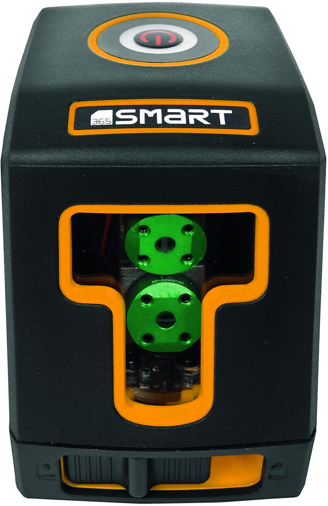 samopoziomujący laser krzyżowy 2-wiązkowy zielony, do 30m, CUBE SMART [SM-06-02030G]
