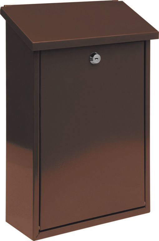 Skrzynka pocztowa - brązowy