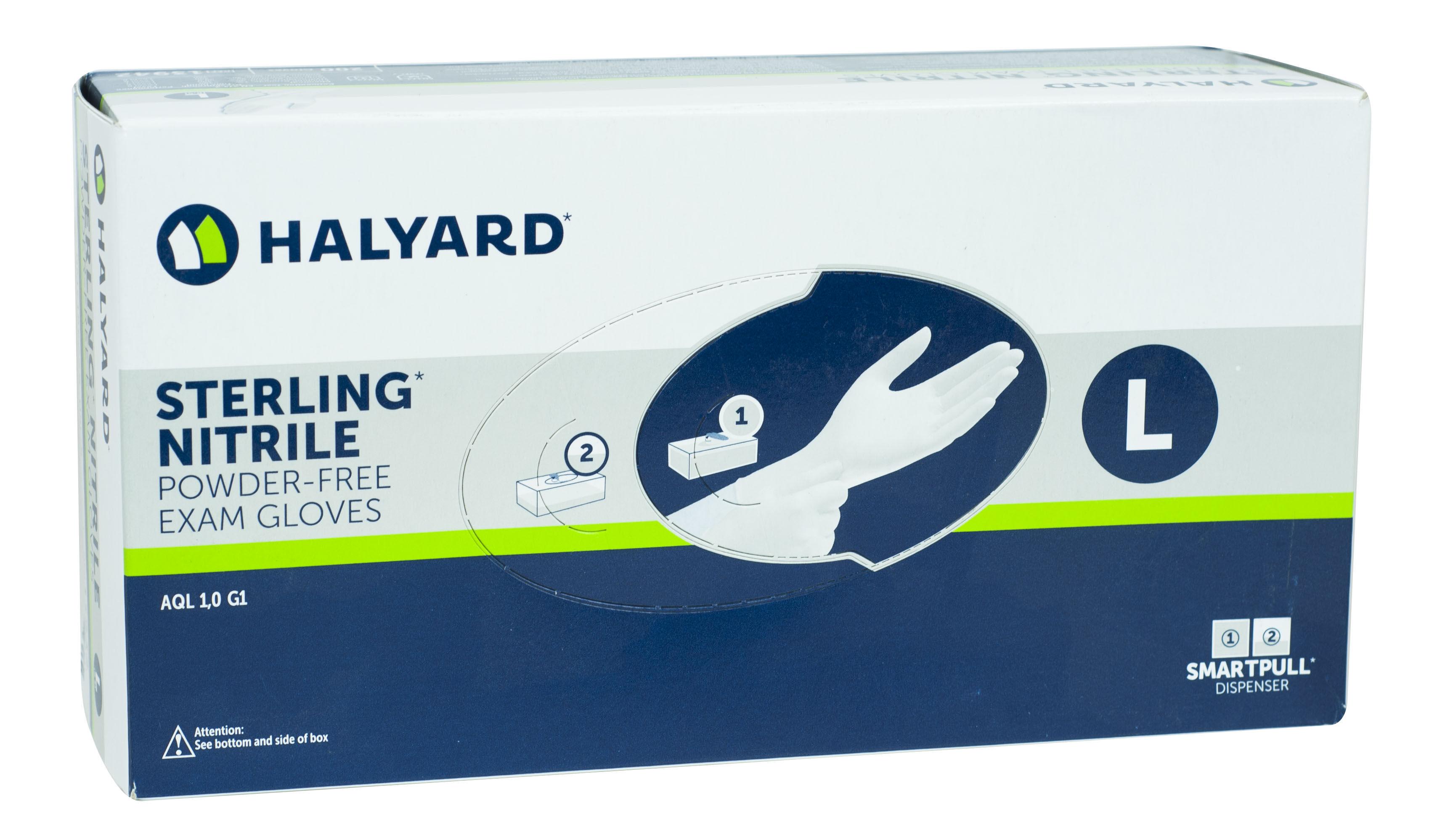 Rękawice nitrylowe Halyard
