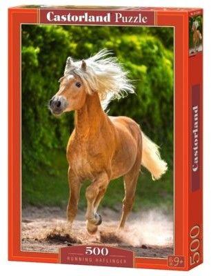 Puzzle Castor 500 - Koń w biegu, Running Haflinger