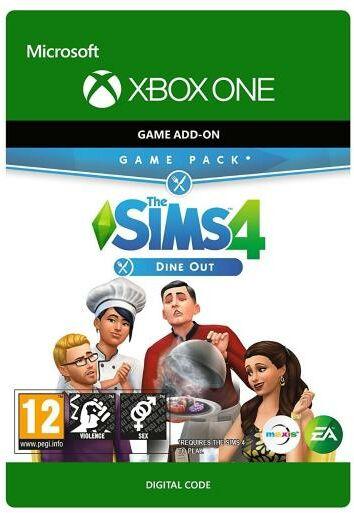 The Sims 4 - Zjedzmy na Mieście DLC Xbox One Dostęp po opłaceniu zakupu