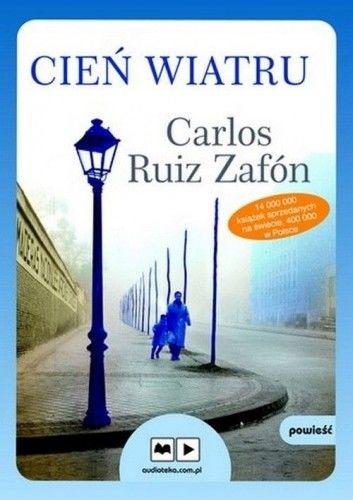 Cień wiatru Carlos Ruiz Zafon (CD mp3)