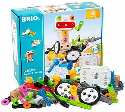 BRIO - Brio Builder Zestaw z Rejestratorem Dźwięk
