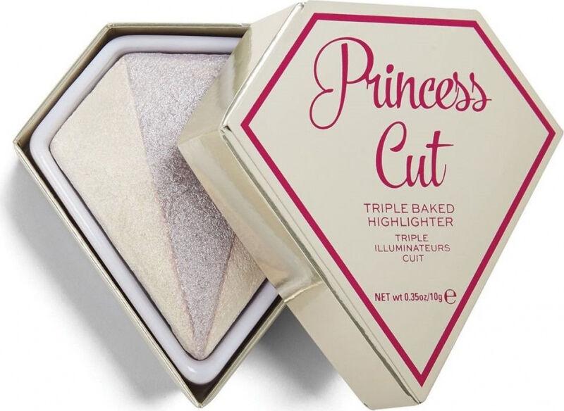 I Heart Revolution - DIAMOND - TRIPLE BAKED HIGHLIGHTER - Rozświetlacz do twarzy - Princess Cut