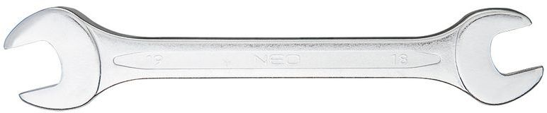 Klucz płaski dwustronny 18 x 19 mm dł. 220 mm 09-818