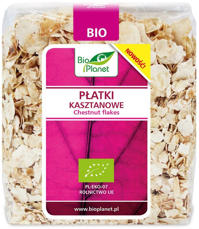 Płatki kasztanowe bio 300 g - bio planet