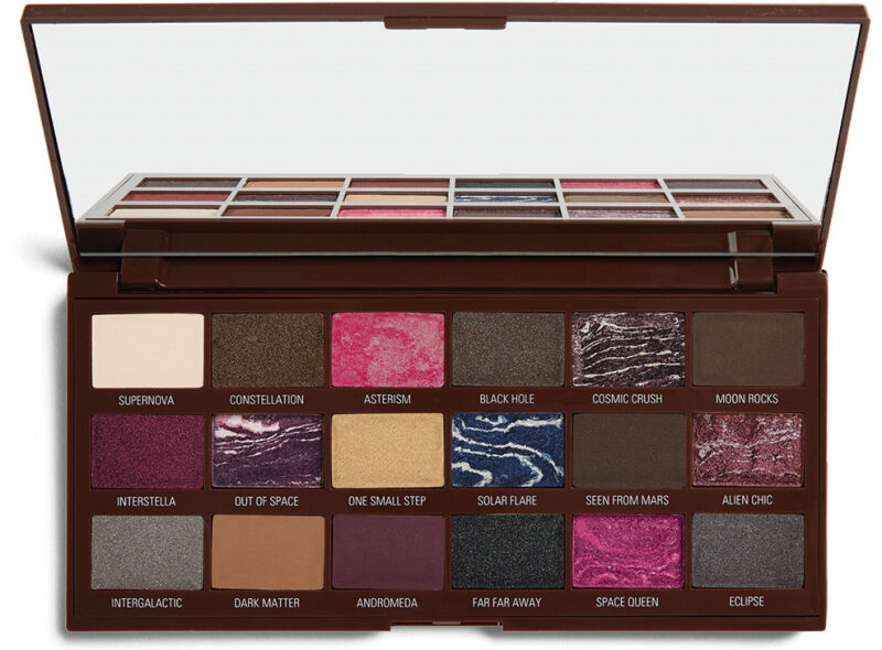 I HEART MAKEUP - Galactic Chocolate Eyeshadow Palette - Paleta 18 cieni do powiek