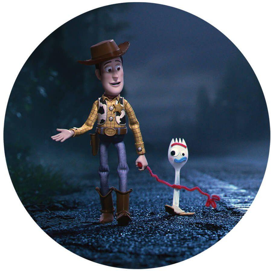 Dekoracyjny opłatek tortowy Toy Story 4 - 20 cm