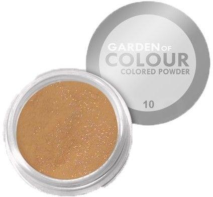 Akryl Kolorowy The Garden Of Colour Nr 10 Złoty 4g