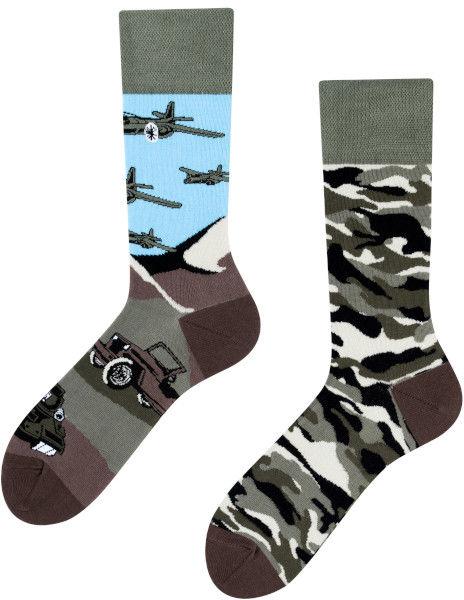 Land of Tanks, Todo Socks, Czołgi, Militaria, Kolorowe Skarpety