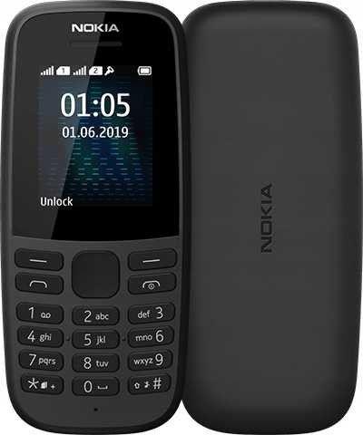 Telefon Komórkowy Nokia 105 Dual SIM (2019)