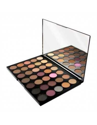 Makeup Revolution PRO HD Amplified paleta 35 cieni Neutrals Cool