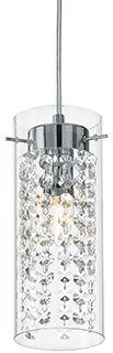 Lampa wisząca Iguazu SP1 052359 Ideal Lux dekoracyjna oprawa w kryształowym stylu