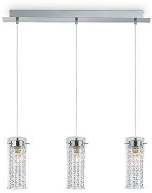 Lampa wisząca Iguazu SP3 052366 Ideal Lux dekoracyjna oprawa w kryształowym stylu