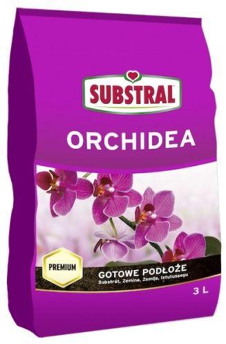 Podłoże ziemia do storczyków i orchidei  3 l substral