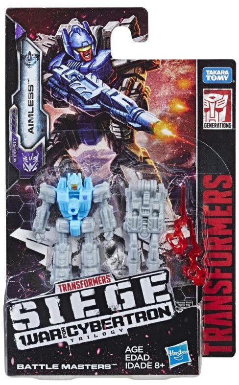 Hasbro Figurka Transformers Generations War for Cybertron Battle Masters Aimless