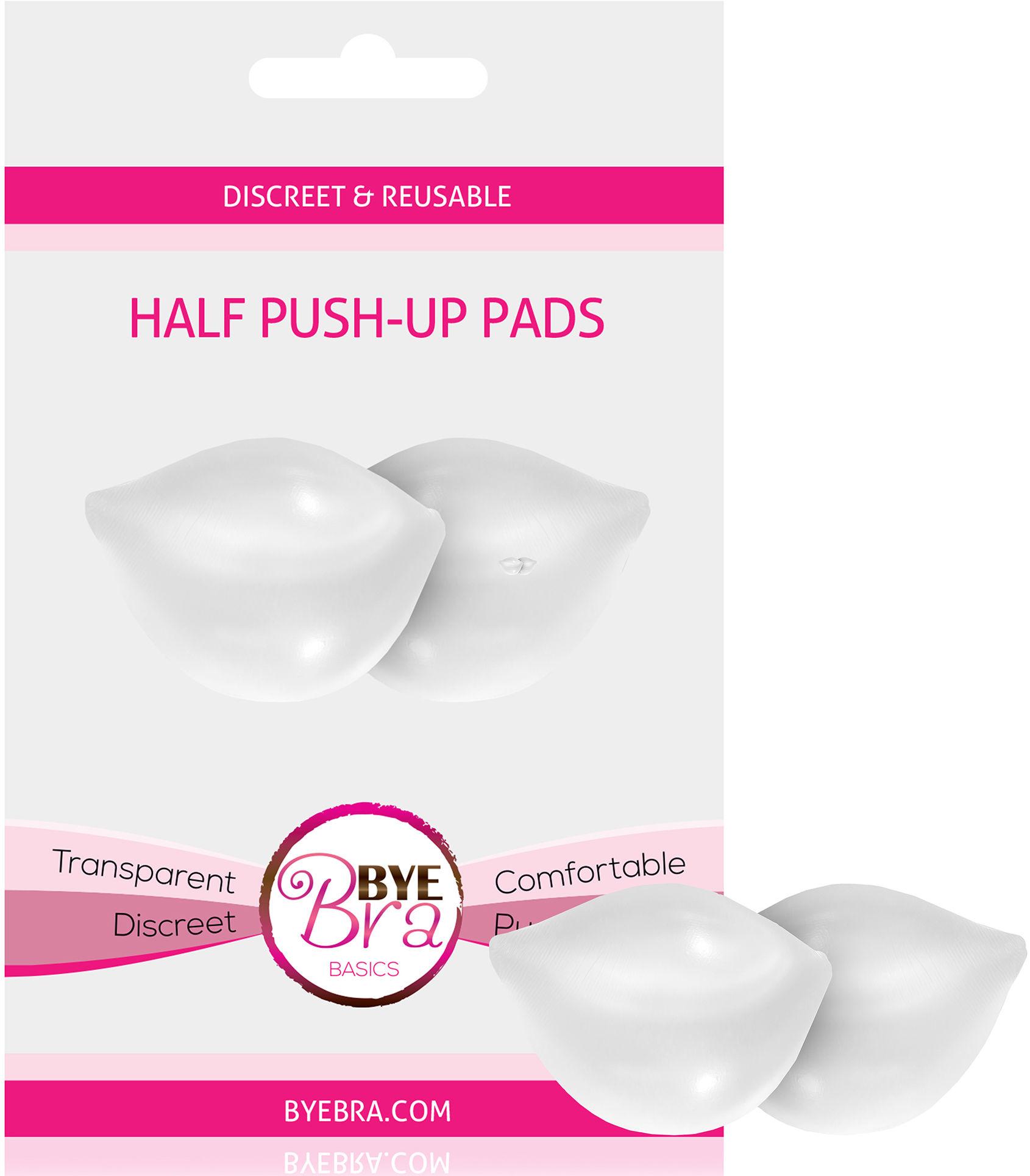 Bye Bra Half Push-Up Pads Clear