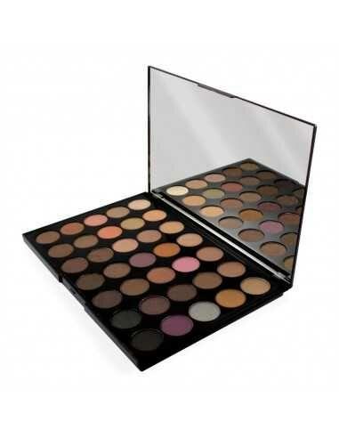 Makeup Revolution PRO HD Amplified paleta 35 cieni Neutrals Warm