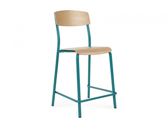 Krzesło szkolny, wysoki hoker Beta