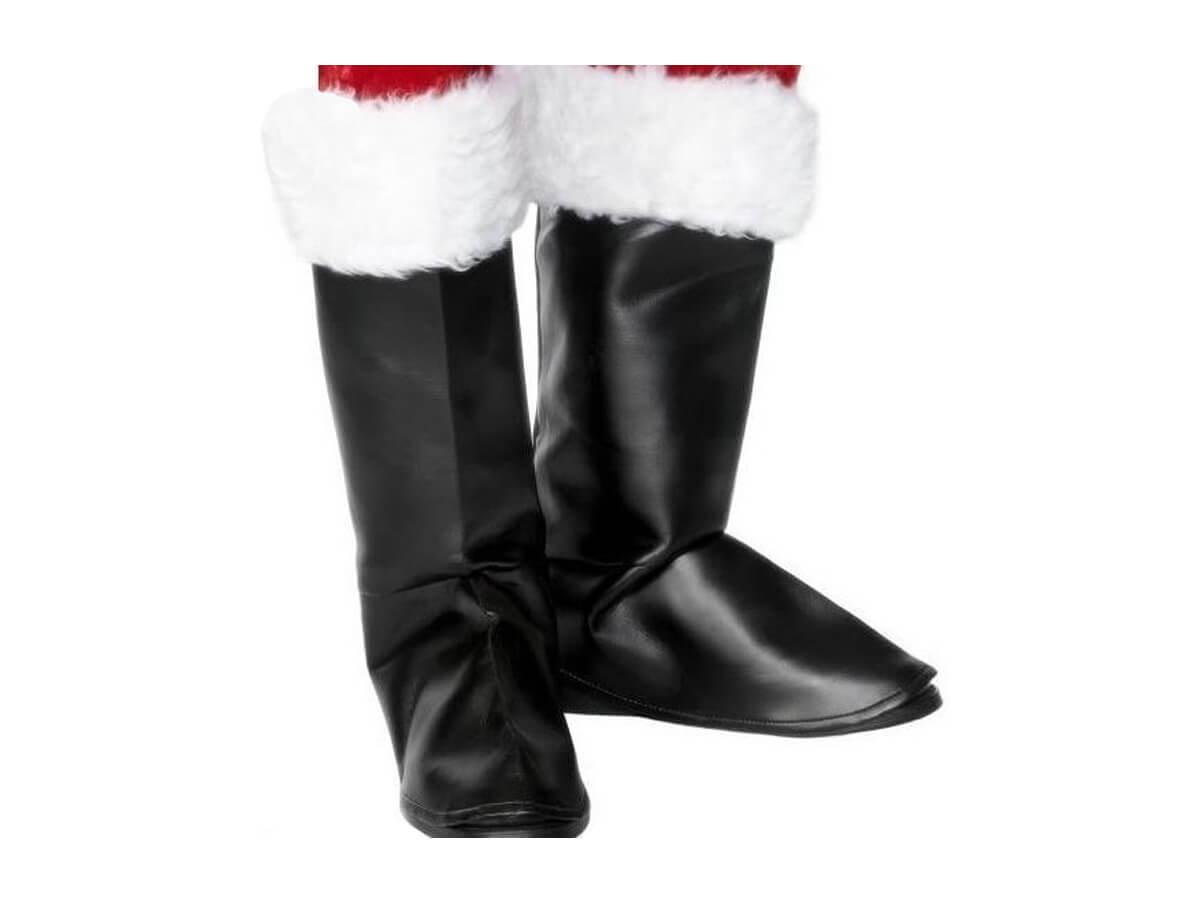 Nakładki na buty do stroju Mikołaja - 1 para