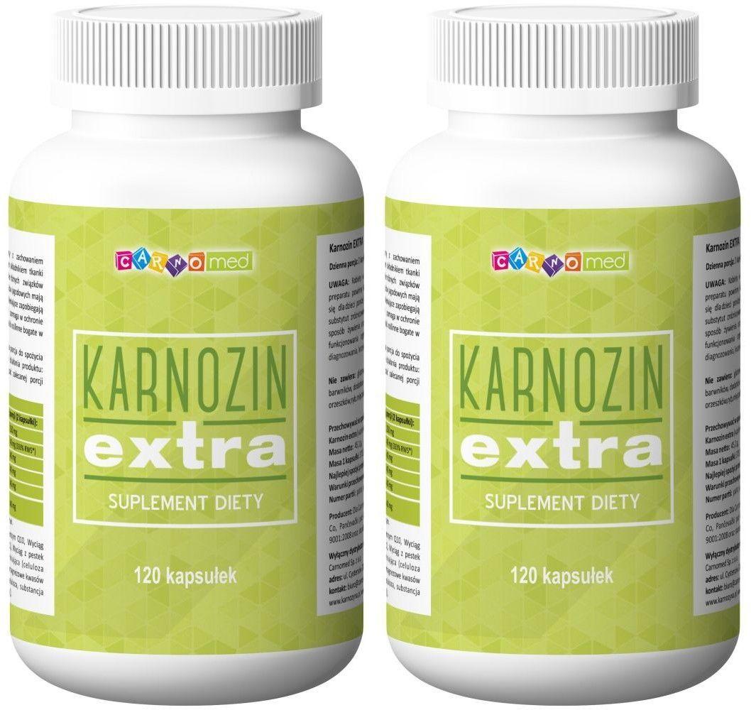 2 x KARNOZIN extra - karnozyna (240 kaps)