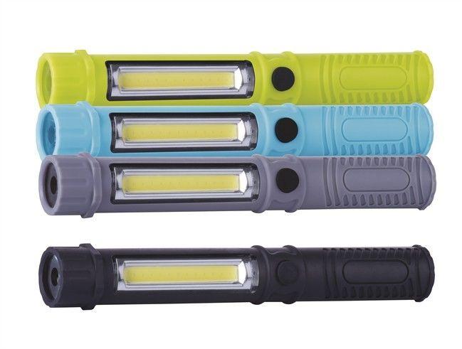 Latarka COB LED kolorowa Emos P3897