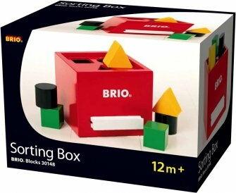 BRIO - Brio Drewniany Sorter Kształtów Retro