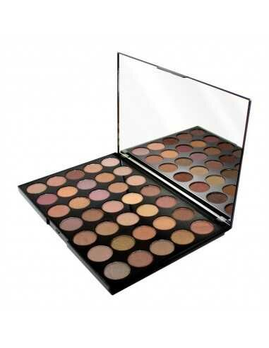 Makeup Revolution PRO HD Matte Amplified paleta 35 cieni Commitment