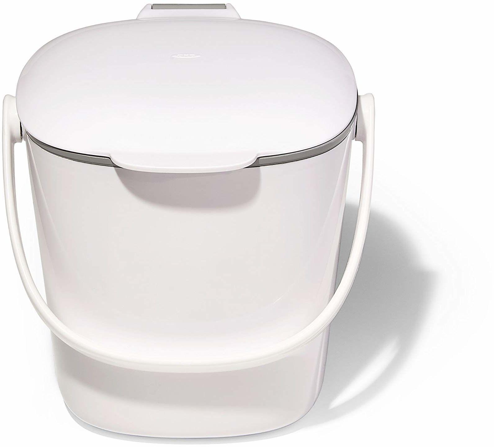 OXO Good Grip, White, 2,83 l OXO Good Grips kosz na kompost, łatwy do czyszczenia, biały, 2,83 l