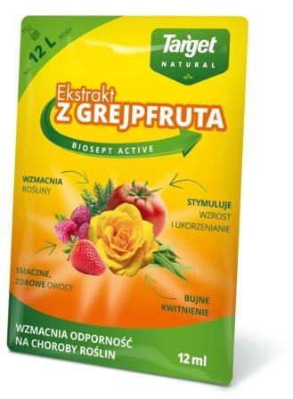 Biosept active  ekstrakt z grejpfruta  12 ml target