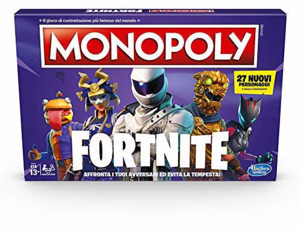 Hasbro Monopoly  Fortnite gra w pudełku, sezon 2, włoskie wydanie