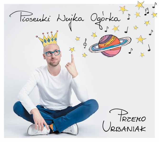Przemo Urbaniak - Piosenki Wujka Ogórka - Płyta CD z Piosenkami dla Dzieci