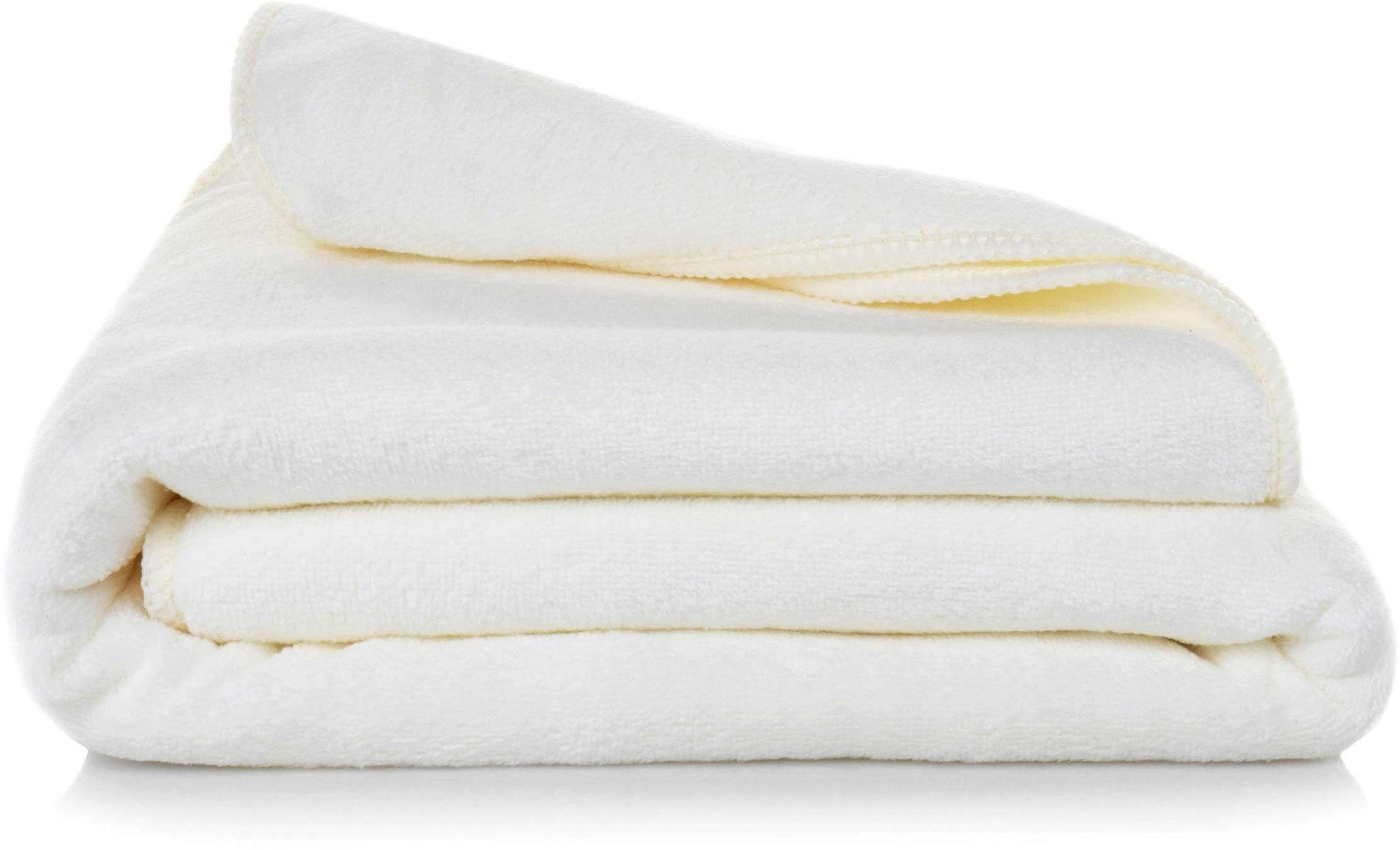 Ręcznik Kąpielowy Eurofirany Amy 01 380 g/m2 Krem 50x90