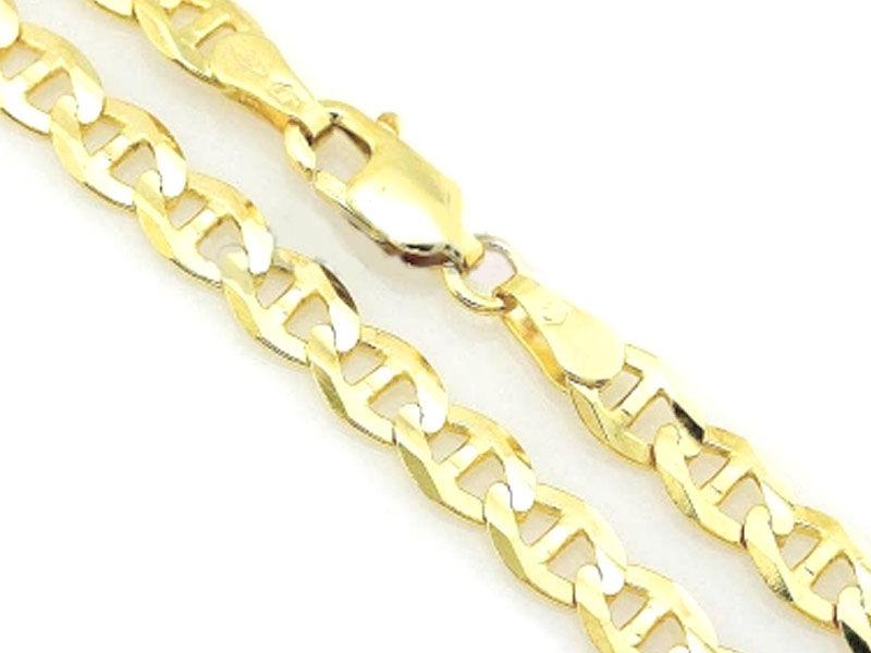 Złoty łańcuszek 333 splot marina gucci 45 cm 3,49 g