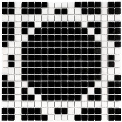 DUNIN B&W Black & White mozaika kamienna Pure B&W Radiant 15