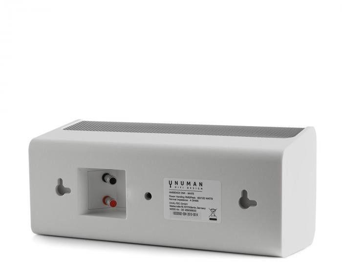 Numan Ambience głośnik centralny 60 W RMS stopa z aluminium biały