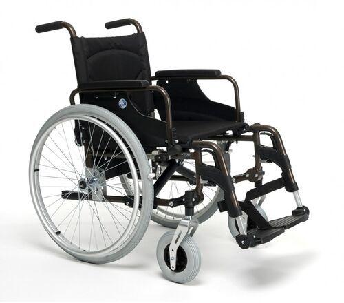 Wózek inwalidzki ręczny wykonany ze stopów lekkich Vermeiren V200 XXL
