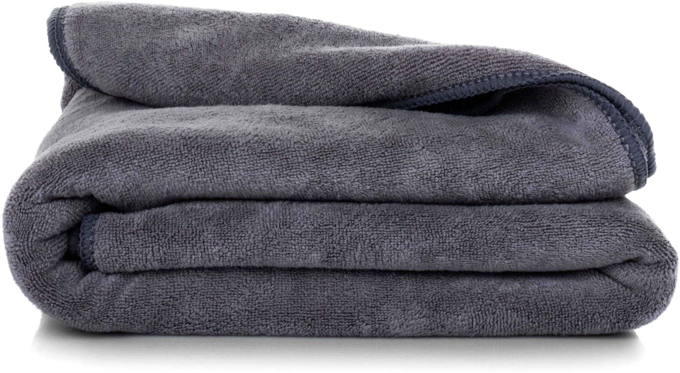 Ręcznik Kąpielowy Eurofirany Amy 03 380 g/m2 Stalowy 50x90