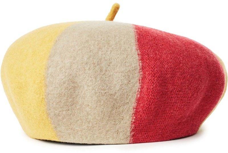 czapka z daszkiem BRIXTON - Audrey Iv Beret Sunset Yellow (SUYEL)