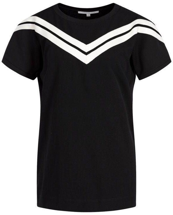 Patrizia Pepe T-Shirt 8M0898/A5D9-J2FG Czarny Regular Fit