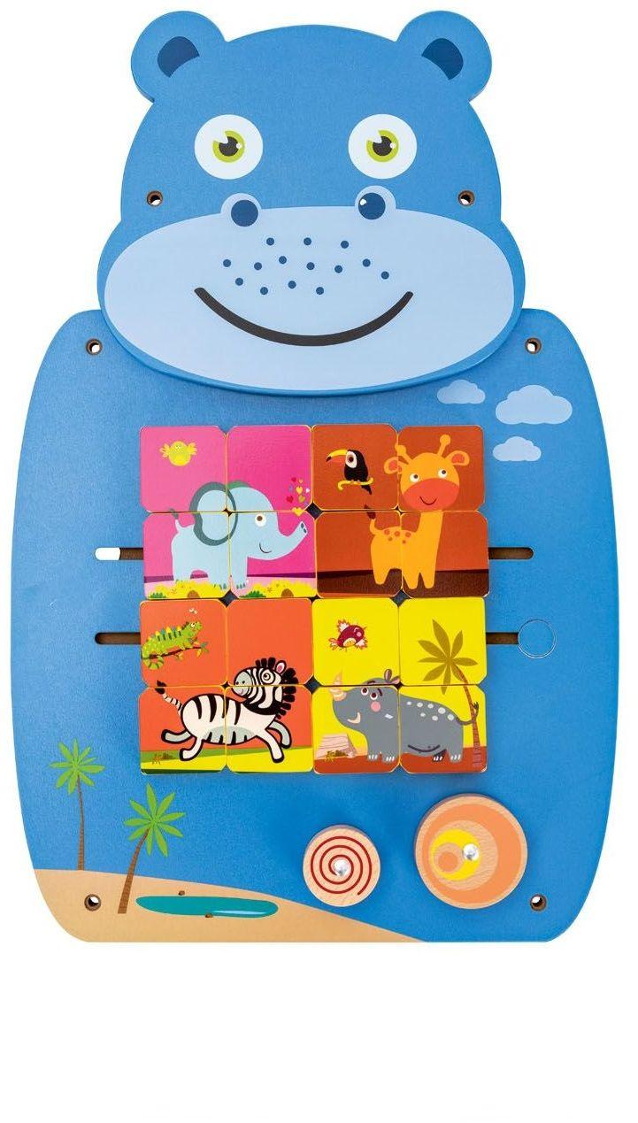 Tablica Manipulacyjna Playtive 347991 Hipopotam